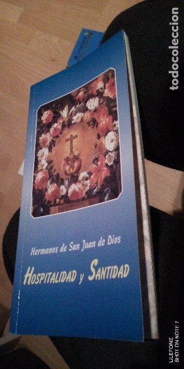 HERMANOS DE SAN JUAN DE DIOS HOSPITALIDAD Y SANTIDAD (Libros de Segunda Mano - Religión)
