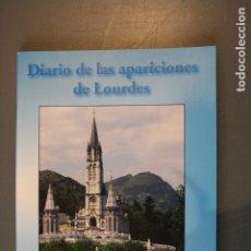 Libros de segunda mano: DIARIO DE LAS APARICIONES DE LOURDES. JESÚS GÓMEZ FERNÁNDEZ. ED. MONTE CASINO. ZAMORA 2009 - JESÚS G. Lote 180877871