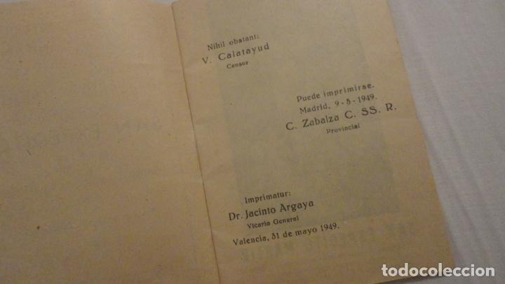 Libros de segunda mano: J.PINEDO.NOVENA TRIDUO SAN EXPEDITO MARTIR.VALENCIA 1949 - Foto 3 - 180894967
