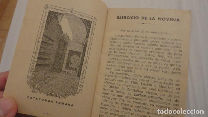 Libros de segunda mano: J.PINEDO.NOVENA TRIDUO SAN EXPEDITO MARTIR.VALENCIA 1949 - Foto 5 - 180894967