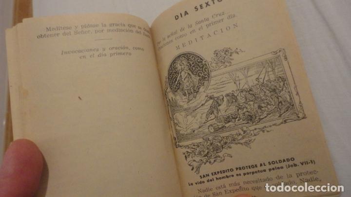 Libros de segunda mano: J.PINEDO.NOVENA TRIDUO SAN EXPEDITO MARTIR.VALENCIA 1949 - Foto 6 - 180894967