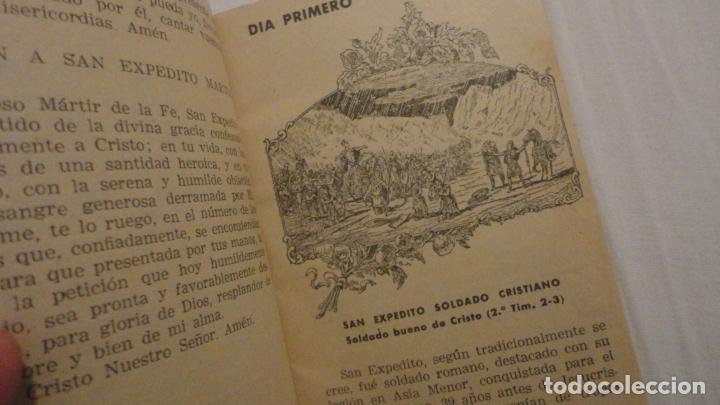 Libros de segunda mano: J.PINEDO.NOVENA TRIDUO SAN EXPEDITO MARTIR.VALENCIA 1949 - Foto 7 - 180894967