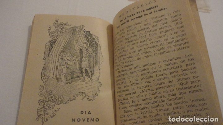 Libros de segunda mano: J.PINEDO.NOVENA TRIDUO SAN EXPEDITO MARTIR.VALENCIA 1949 - Foto 8 - 180894967