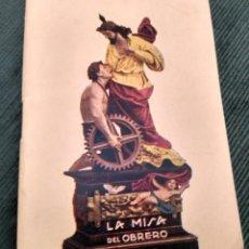 Libros de segunda mano: LA MISA DEL OBRERO.POR EL P. SALVADOR DE RAFELBUÑOL. CAPUCHINO. IMP DOMENECH VALENCIA 1946. Lote 180986438