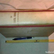 Libros de segunda mano: LA SANTA BIBLIA, PLANETA, 1961, EN CAJA DE MADERA. Lote 181156192