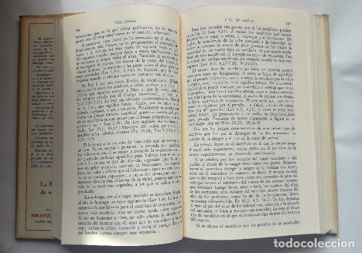 Libros de segunda mano: LA PLEGARIA EUCARÍSTICA.- Estudio de teología bíblica y litúrgica sobre la misa. (L Maldonado, 1967) - Foto 4 - 181207727