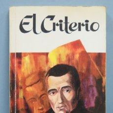 Libros de segunda mano: EL CRITERIO. BALMES. RAMON SOPENA. Lote 181467281