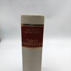Libros de segunda mano: SAN JUAN DE LA CRUZ. OBRAS COMPLETAS. Lote 181500718