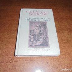 Libros de segunda mano: COMPENDIO SAGRADO DE LA PEREGRINA Hª DE LOS SANTOS CORPORALES Y MISTERIO DE DAROCA. Lote 181534498
