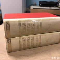 Libros de segunda mano: DICCIONARIO DE LOS TEXTOS CONCILIARES (VATICANO II). ÁNGEL TORRES CALVO. 2 TOMOS. 1968. Lote 181709391