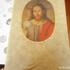 Libros de segunda mano: SAGRADA BIBLIA FACSIMILE. Lote 181979678
