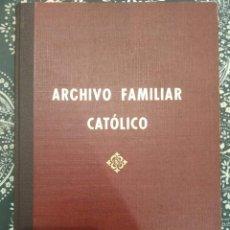 Libros de segunda mano: ARCHIVO FAMILIAR CATOLICO SIN ESTRENAR. Lote 182203546