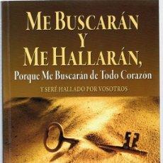 Libros de segunda mano: ME BUSCARÁN Y ME HALLARÁN FRANCIS FRANGIPANE. Lote 182301280