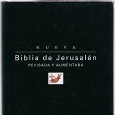 Libros de segunda mano: BIBLIA DE JERUSALÉN REVISADA Y AUMENTADA . Lote 182304253