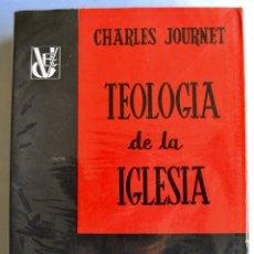 Libros de segunda mano: CHARLES JOURNET. TEOLOGÍA DE LA IGLESIA. EDICIONES DESCLÉE DE BROUWER, 1960. Lote 182323742
