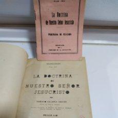 Libros de segunda mano: LA DOCTRINA DE NUESTRO SEÑOR JESUCRISTO, VARIOS LIBROS DEL PLAN RELIGIÓN 1954. Lote 182431805