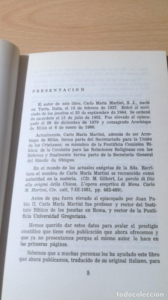 Libros de segunda mano: ITINERARIO ESPIRITUAL DE LOS DOCE EN EL EVANGELIO DE SAN MARCOS- CARLO MARIA MARTINI/ G401 - Foto 6 - 182495397