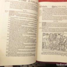 Libros de segunda mano: FACSÍMIL ÍNTEGRO DE LA BIBLIA DE LUTERO (1545). Lote 182587021