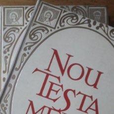 Libros de segunda mano: NOU TESTAMENT. 2 VOLUMS. VERSIÓ DEL TEXT ORIGINAL I NOTES PELS MONJOS DE MONTSERRAT. Lote 182701131