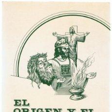 Libros de segunda mano: EL ORIGEN Y EL DESTINO ELENA G. DE WHITE ILUSTRACIONES DE GUSTAVO DORÉ . Lote 182771961