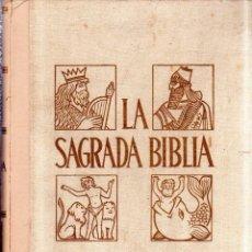 Libros de segunda mano: LA SAGRADA BIBLIA. MONTANER Y SIMON. TOMO II. ANTIGUO TESTAMENTO. GREGORIO MODREGO CASAUS. 1961.. Lote 182837867