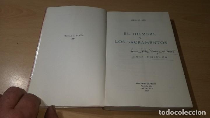 Libros de segunda mano: EL HOMBRE Y LOS SACRAMENTOS - BERNARD BRO - EDICIONES SIGUEME/ G401 - Foto 4 - 182896575