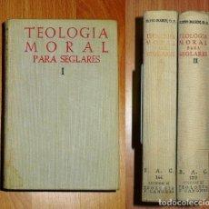 Libros de segunda mano: ROYO MARÍN, ANTONIO. TEOLOGÍA MORAL PARA SEGLARES (BIBLIOTECA DE AUTORES CRISTIANOS ; 166, 173). Lote 183471932