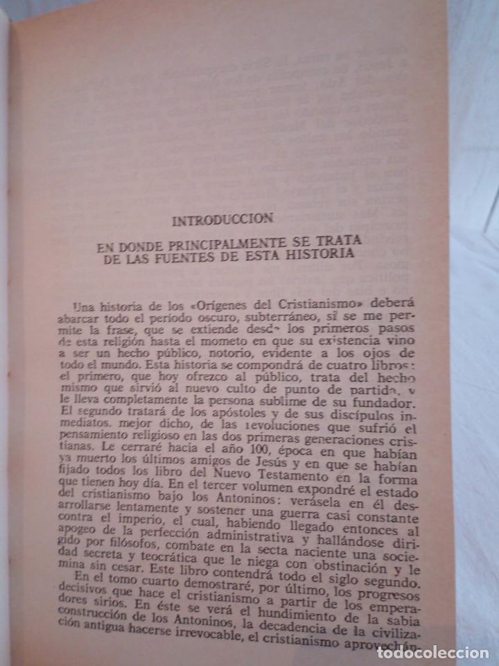 Libros de segunda mano: 21-VIDA DE JESUS, E. Renan, 1980 - Foto 5 - 183813692