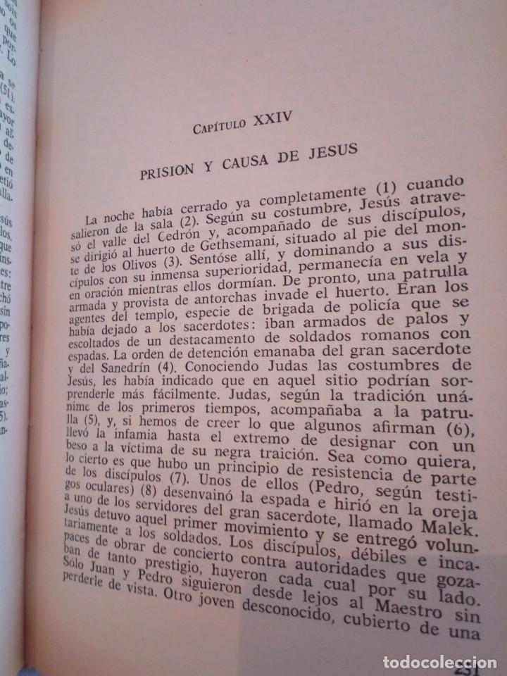 Libros de segunda mano: 21-VIDA DE JESUS, E. Renan, 1980 - Foto 7 - 183813692