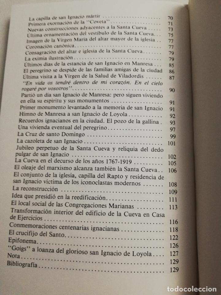 Libros de segunda mano: RUTAS IGNACIANAS EN LA CIUDAD DE MANRESA (FERRAN TORRA SISQUELLA, S. I.) - Foto 4 - 183958082