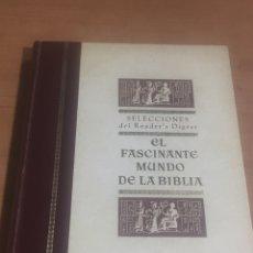 Libros de segunda mano: EL FASCINANTE MUNDO DE LA BIBLIA 216 PÁG. 26X19CM. Lote 183960952