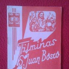 Libros de segunda mano: PEQUEÑO LIBRO CUADERNO O SIMIL FILMINAS SAN JUAN BOSCO Nº 107 HISTORIA DE LA IGLESIA II VER FOTO..... Lote 183970877