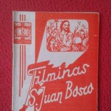 Libros de segunda mano: PEQUEÑO LIBRO CUADERNO O SIMIL FILMINAS SAN JUAN BOSCO Nº 126 SAN PABLO APOSTOL DE LAS GENTES I..VER. Lote 183972077
