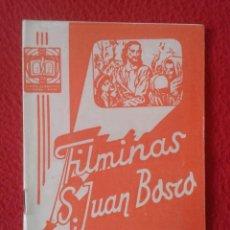 Libros de segunda mano: PEQUEÑO LIBRO CUADERNO O SIMIL FILMINAS SAN JUAN BOSCO Nº D-53 SAN FRANCISCO JAVIER VER FOTO Y DESCR. Lote 183975192