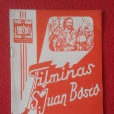 Libros de segunda mano: PEQUEÑO LIBRO CUADERNO O SIMIL FILMINAS SAN JUAN BOSCO Nº H , 7 UNA VISITA A LA ROMA ANTIGUA VE FOTO. Lote 183975633