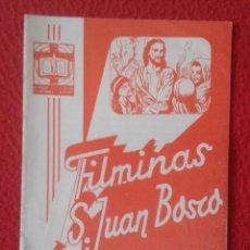 Libros de segunda mano: PEQUEÑO LIBRO CUADERNO O SIMIL FILMINAS SAN JUAN BOSCO Nº H , 6 JULIO CESAR VER FOTO Y DESCRIPCIÓN. Lote 183976362