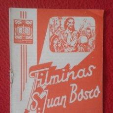 Libros de segunda mano: PEQUEÑO LIBRO CUADERNO O SIMIL FILMINAS SAN JUAN BOSCO Nº H , 16 EL SANTO SEPULCRO VER FOTO Y DESCRI. Lote 183976568