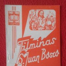 Libros de segunda mano: PEQUEÑO LIBRO CUADERNO O SIMIL FILMINAS SAN JUAN BOSCO Nº H , 14 ALEJANDRO MAGNO VER FOTO Y DESCRIPC. Lote 183976836