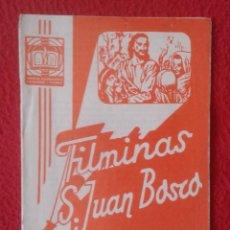 Libros de segunda mano: PEQUEÑO LIBRO CUADERNO O SIMIL FILMINAS SAN JUAN BOSCO Nº 403 JUNGLA REDIMIDA VER FOTO Y DESCRIPCIÓN. Lote 183981110