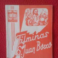 Libros de segunda mano: PEQUEÑO LIBRO CUADERNO O SIMIL FILMINAS SAN JUAN BOSCO Nº 459 A LAS ORILLAS DEL RÍO DAS MORTES...VER. Lote 183981455