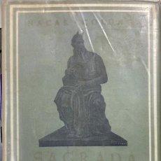 Libros de segunda mano: SAGRADA BIBLIA. ELOINO NACAR. ALBERTO COLUNGA. BIBLIOTECA AUTORES CRISTIANOS. MADRID,1968. PAGS:1523. Lote 184005023