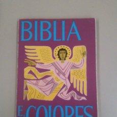 Libros de segunda mano: BIBLIA EN COLORES. Lote 184035378