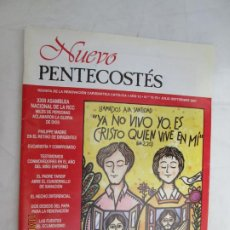 Libros de segunda mano: NUEVO PENTECOSTES REVISTA N 1 75-76 JULIO SEPTIEMBRE 2001 . Lote 184054481