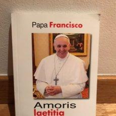 Libros de segunda mano: PAPA FRANCISCO AMORIS LAETITIA. Lote 184061091