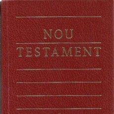 Libros de segunda mano: REF.0017849 NOU TESTAMENT / EDITORIAL CLARET. Lote 184195580