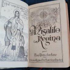 Libros de segunda mano: MISAL MISALITO REGINA 1962. Lote 184213036