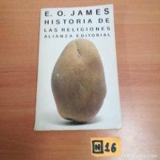 Libros de segunda mano: HISTORIA DE LA RELIGIONES. Lote 184496698