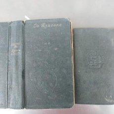 Libros de segunda mano: DEVOCIONARIOS ANTIGUOS,AÑOS 1932 Y 1950,ESTADO NORMAL DE USO IGUAL QUE SE VE EN LAS FOTOS,. Lote 184646812