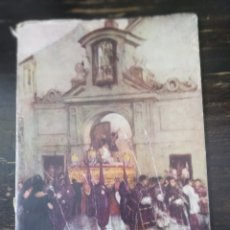 Libros de segunda mano: SEMANA SANTA SEVILLA,1962, PREGON PRONUNCIADO POR SEBASTIAN GARCIA DIAZ. Lote 184699548