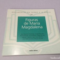 Libros de segunda mano: FIGURAS DE SANTA MARÍA MAGDALENA DOCUMENTOS EN TORNO A LA BIBLIA VERBO DIVINO 148 PAGINAS . Lote 184755322